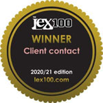 The Lex 100 - Featured Firm: Client contact