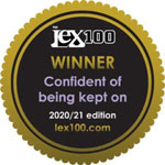 The Lex 100 - Featured Firm: Confident of being kept on