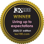 The Lex 100 - Featured Firm: Living up to expectations