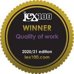 The Lex 100 - Featured Firm: Quality of Work