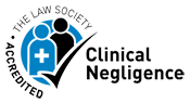 The Law Society Accredited - Clinical Negligence