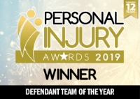 Personal Injury Awards 2019 - Defendant Team of the Year