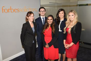 Claire Smith, Joe McCreadie, Trishna Modessa, Yara Cherbetji and Abigail Mottram