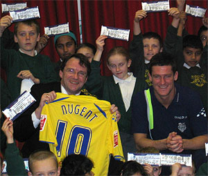 Nugent scores school visit success thanks to Forbes Solicitors