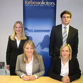 Four new trainees join leading law firm