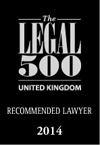 The Legal 500 - Recommended Lawyer 2014