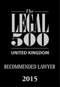 The Legal 500 - Recommended Lawyer 2015