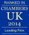 Chambers UK 2014 Leading Firm
