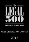 The Legal 500 - Next Generation Lawyer 2017