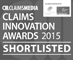 Claims Innovations Awards 2015 - Shortlisted