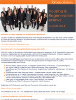 Housing & Regeneration eNews - August 2014 (21225)