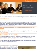 Insurance eNewsletter - October 2014 (22211)