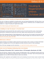 Housing & Regeneration eNews October 2015 (32294)