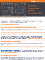 Housing and Regeneration eNews November 2015 (33325)