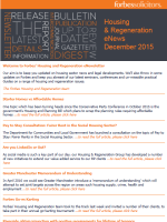 Housing and Regeneration eNews December 2015 (34347)