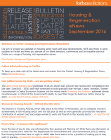Housing & Regeneration eNews - September 2016 (35511)