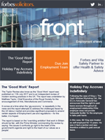 Employment newsletters