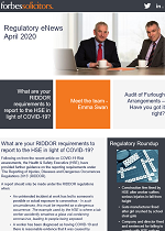 Regulatory eNews // April 2020 (46946)