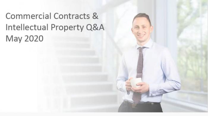Commercial Contracts & Intellectual Property Q&A - Play video