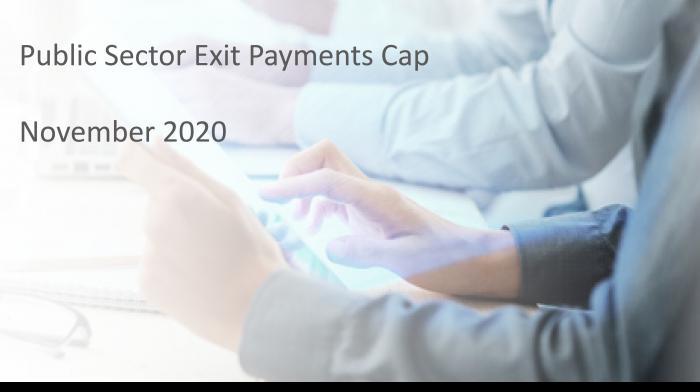 Public Sector Exit Payments Cap - Play video