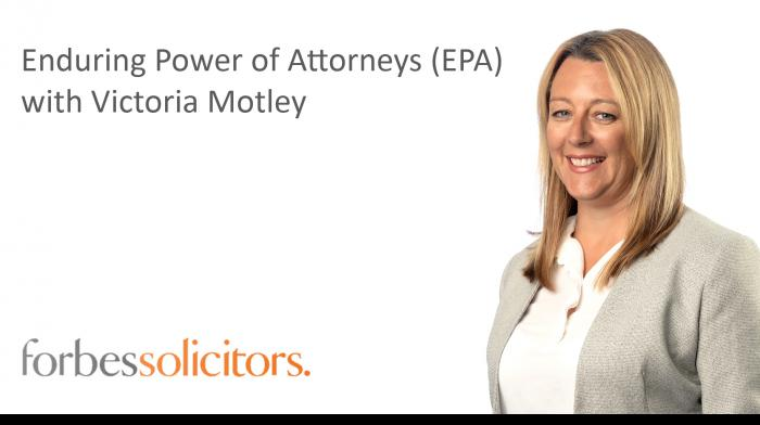Enduring Power of Attorneys (EPA) - Play video